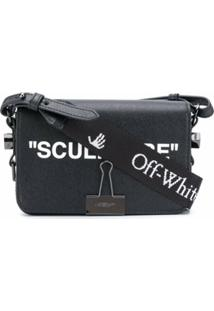 Off-White Bolsa Transversal Sculpture Mini - Preto