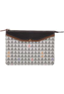 Clutch Triangle Premium Pearl | Schutz