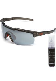 Óculos De Sol Hb Shield Cinza