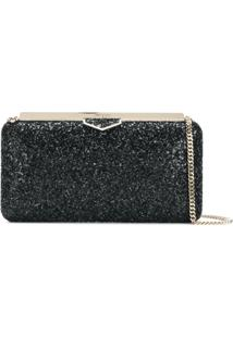 Jimmy Choo Clutch 'Ellipse' - Preto