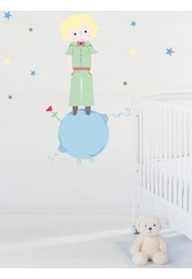 Adesivo Decorativo Stixx Pequeno Príncipe Azul