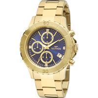 0eab6ef304a Relógio Technos Masculino Js15Bm4A - Masculino-Dourado