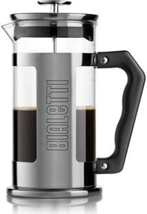 Cafeteira French Press Preziosa Negrito 350 Ml Bialetti