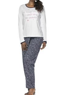 Pijama Constelation Branco