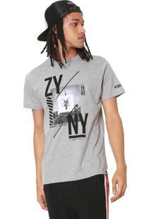 Camiseta Zoo York Empire Cinza