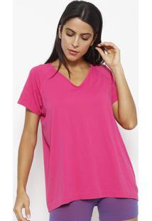 Camiseta Lisa Com Sanitized®- Rosa- Lupolupo