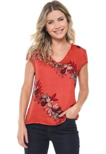 Blusa Cativa Floral Rosa