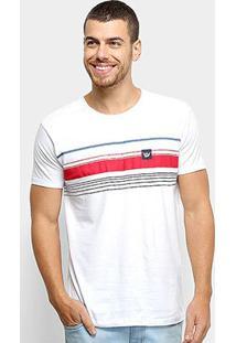 Camiseta Hang Loose Silk Striped Masculina - Masculino