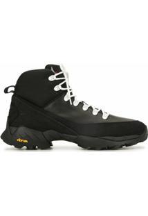 Roa Ankle Boot Com Cadarço - Preto
