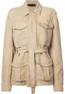 Haider Ackermann Basic Belted Jacket - Neutro
