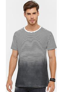 Camiseta Foxton Degradê Listras Masculina - Masculino