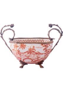 Vaso De Porcelana E Bronze Iv – Imperial