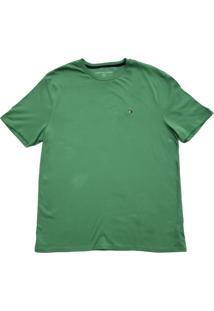 Camiseta Tommy Hilfiger Masculina Tees Verde