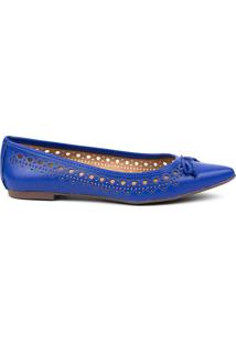 Sapatilha Feminino Milano Econapa Azul Klein 8151