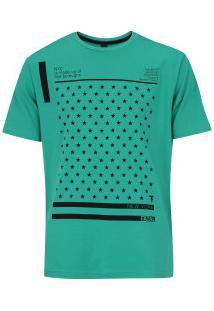 Camiseta Fatal Estampada 20265 - Masculina - Verde