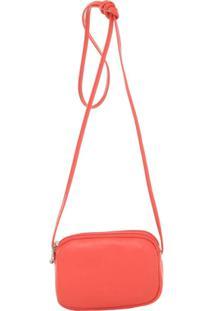 Mini Smart Bag Bolsa Luxo Transversal - Feminino-Laranja
