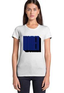 Camiseta Feminina Joss Women - Feminino-Branco