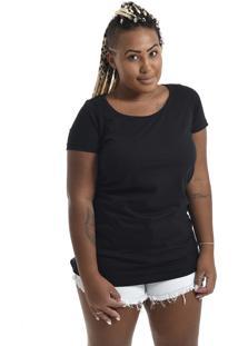 Camiseta Korova Slim Basica Preta