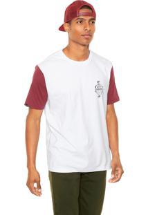 Camiseta Rusty Esp Bones Branca