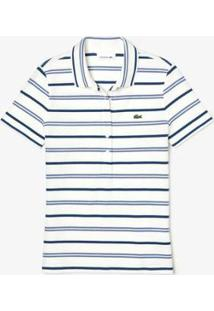 Camisa Polo Lacoste Regular Fit Feminina - Feminino