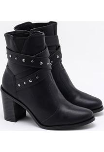 Ankle Boot Bebecê Preta