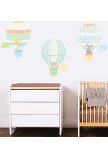 Adesivo Decorativo Stixx Balloon Menino - Verde