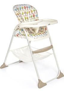 Cadeira Alta Joie Mimzy Caramelo/Branco