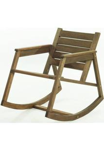 Cadeira Balanco Janis Stain Nogueira 80Cm - 61406 - Sun House