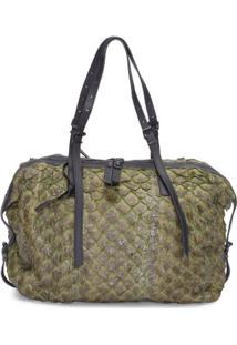 Bolsa Pirarucu Shoulder Bag Osklen - Verde
