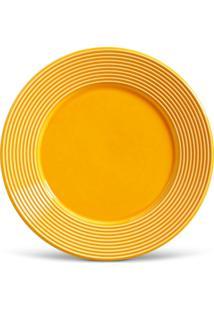 Conjunto 6Pçs Pratos Rasos Porto Brasil Argos Amarelo