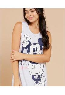 Camisola Feminina Estampa Mickey Sem Manga Disney - 10043442379 - Feminino