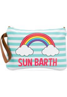 Mc2 Saint Barth Kids Sun Barth Clutch Bag - Azul