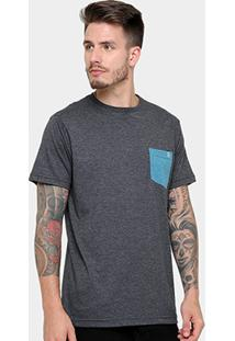 Camiseta Volcom Esp Twist Masculina - Masculino