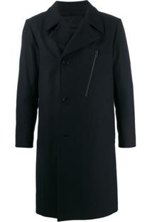 J.Lindeberg Trench Coat Matelassê - Azul