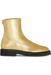 Giuseppe Zanotti Ankle Boot Metálica - Dourado