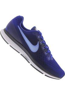 Tênis Nike Air Zoom Pegasus 34 - Masculino - Azul