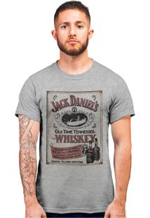 Camiseta Artseries Old Time Tenessee Whiskey Cinza