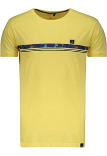 Camiseta Hd Slim Fit - Masculino-Amarelo