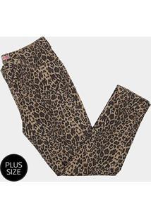 Calça Jeans Razon Onça Skinny Plus Size Feminina - Feminino-Onça