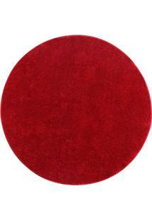 Tapete Classic- Vermelho- Ø150Cm- Oasisoasis