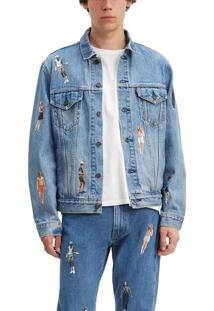 Jaqueta Jeans Levis Vintage Fit Stranger Things - Xs