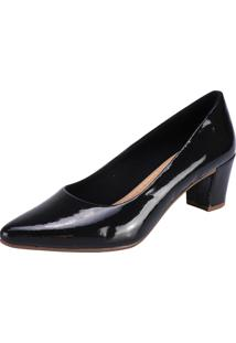 Scarpin Lu Fashion Preto
