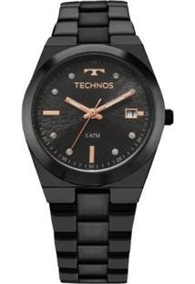 da037c736e2 Relógio Digital Aco Preto feminino