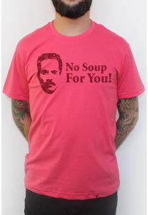 No Soup For You - Camiseta Clássica Masculina