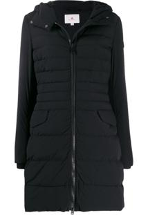 Peuterey Padded Hooded Coat - Preto