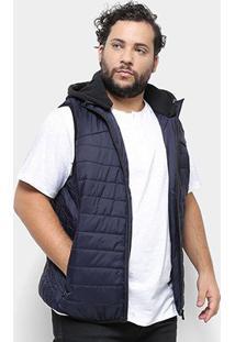 Colete Delkor Puffer Plus Size Masculino - Masculino