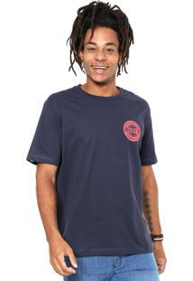 Camiseta Rusty Stuck Azul-Marinho