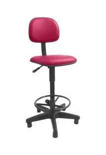 Cadeira Gold Secretária Caixa Corano Rosa