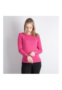 Blusa De Malha Leve Sumaré 31239 Pink