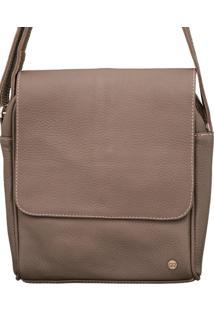 Bolsa Corazzi Leather Deluxe Carteiro Marrom
